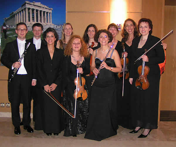 "The Johann Strauss Ensemble Vienna at the ""Wien-Ball"" 2005 in the Olympic City Athens"